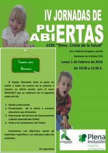 JORNADAS PUERTAS ABIERTAS 2015-2016 2